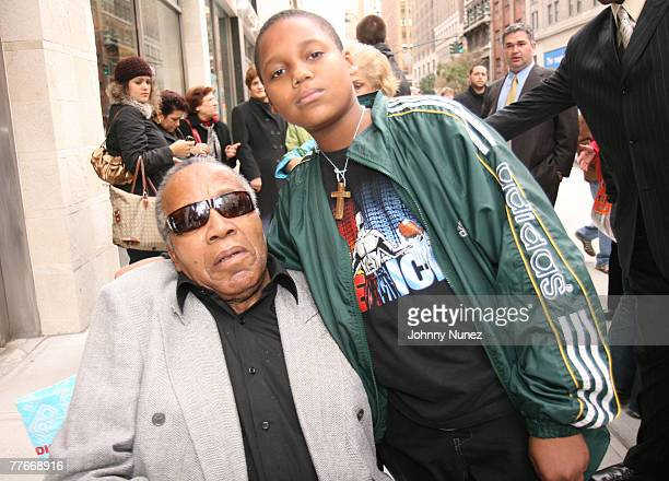 Frank Lucas and His Son attends Frank Lucas Sighting November 2 2007 in New York City NY