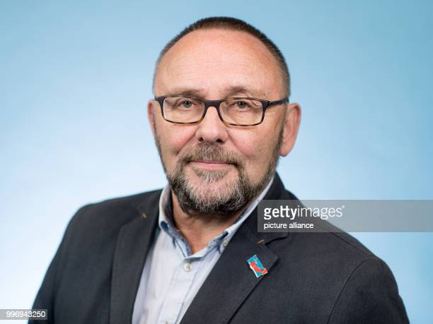 Frank Magnitz member of the AfD parliamentary group in the 19th legislative period of the Bundestag photographed at the Bundestag in Berlin Germany 5...