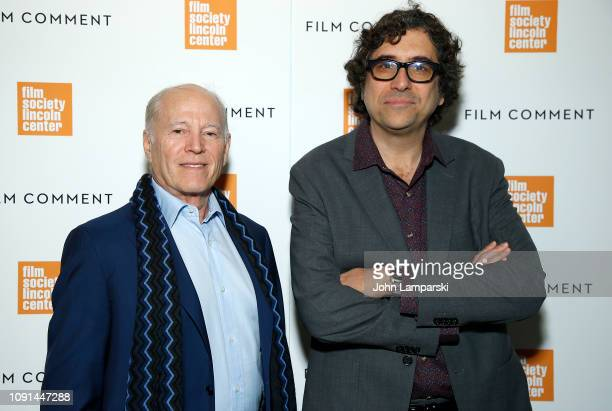Frank Marshall and Bob Murawski attend Film Society of Lincoln Center Film Comment Annual Luncheon at Lincoln Ristorante on January 08 2019 in New...