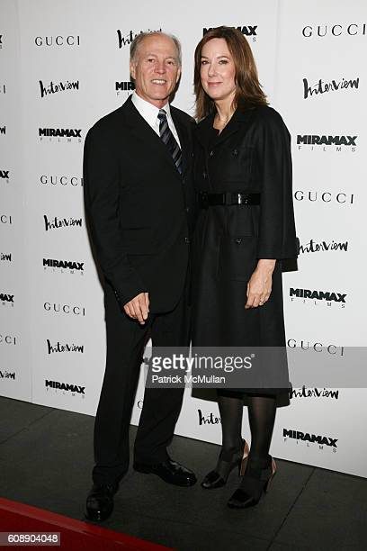 1e2d9bee8a1 Frank Marshall and Kathleen Kennedy attend GUCCI and INTERVIEW... News  Photo