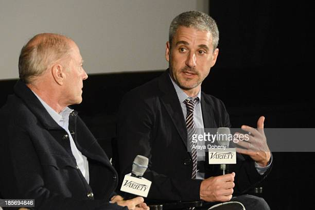 Frank Marshall and Matthew Tolmach attend the 2013 Variety Screening Series Presents Sony Pictures Classics' The Armstrong Lie at ArcLight Hollywood...