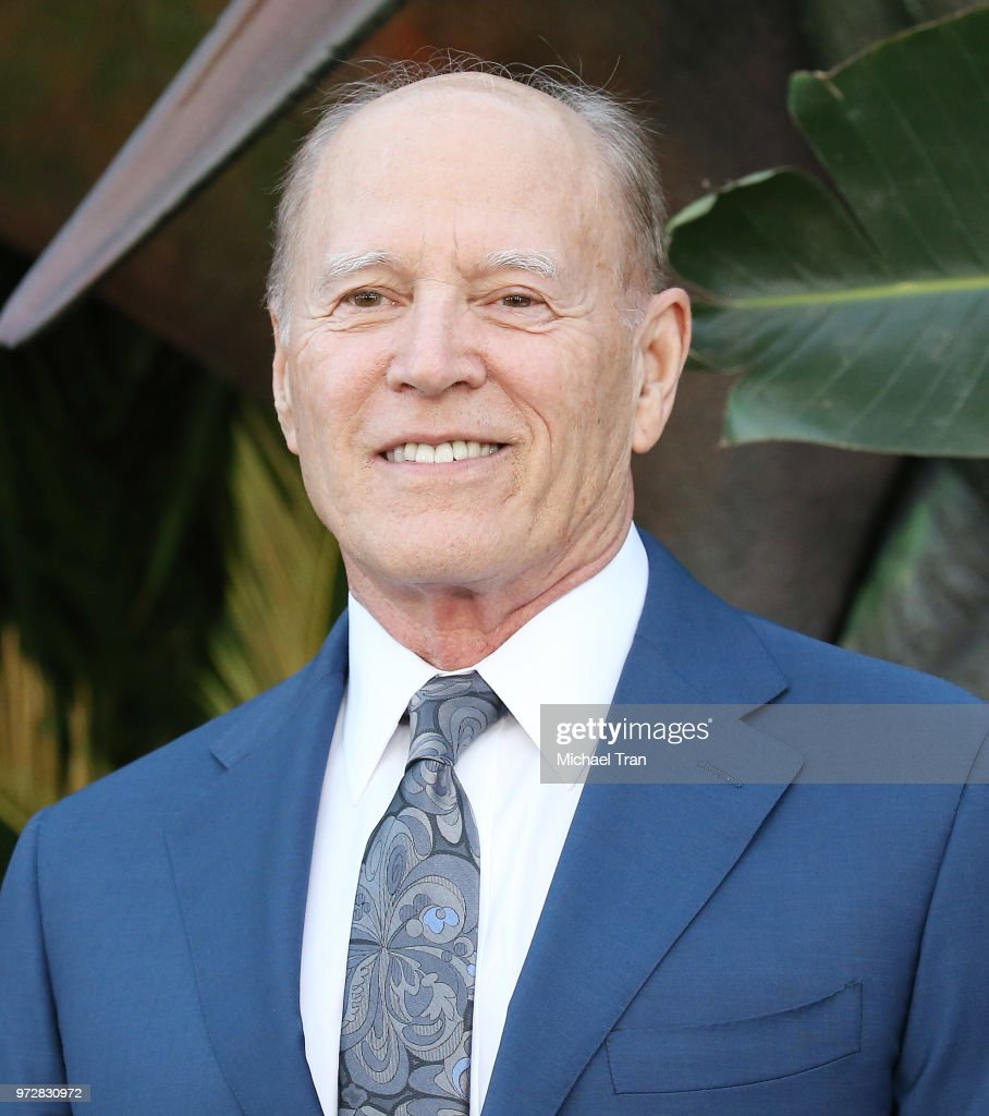 Frank Marshall arrives to the Los Angeles premiere of Universal Pictures and Amblin Entertainment's 'Jurassic World: Fallen Kingdom' held at Walt Disney Concert Hall on June 12, 2018 in Los Angeles, California.