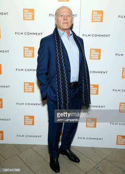 Frank Marshall attends Film Society of Lincoln Center Film Comment Annual Luncheon at Lincoln Ristorante on January 08 2019 in New York City