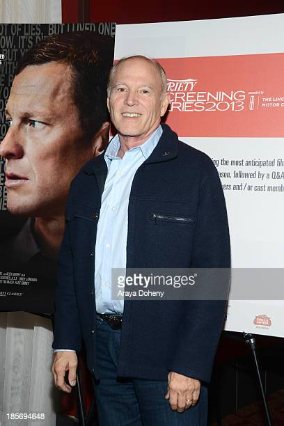 Frank Marshall attends the 2013 Variety Screening Series Presents Sony Pictures Classics' The Armstrong Lie at ArcLight Hollywood on October 23 2013...