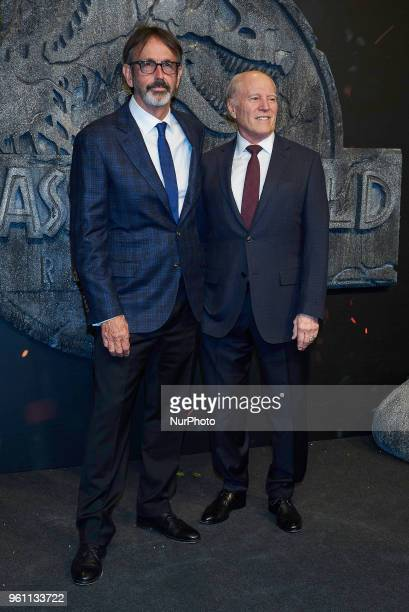 Frank Marshall attends the 'Jurassic World Fallen Kingdom' premiere at Wizink Center in Madrid on May 21 2018