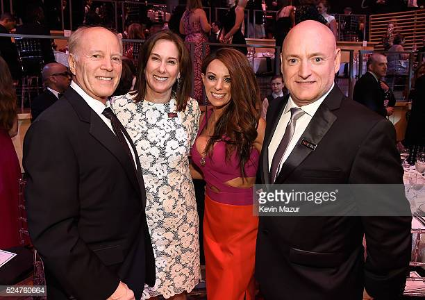 Frank Marshall Kathleen Kennedy Amiko Kauderer and Scott Kelly attend the 2016 Time 100 Gala Time's Most Influential People In The World at Jazz At...