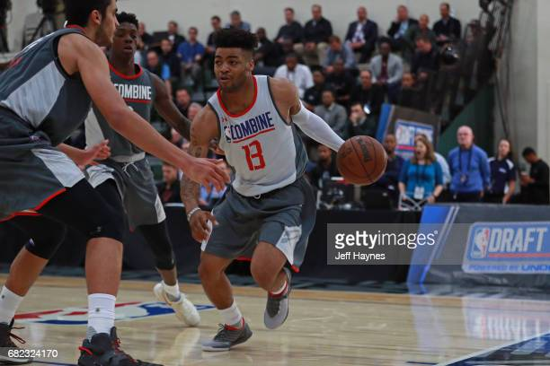 Frank Mason III drives to the basket during the NBA Draft Combine at the Quest Multisport Center on May 11 2017 in Chicago Illinois NOTE TO USER User...
