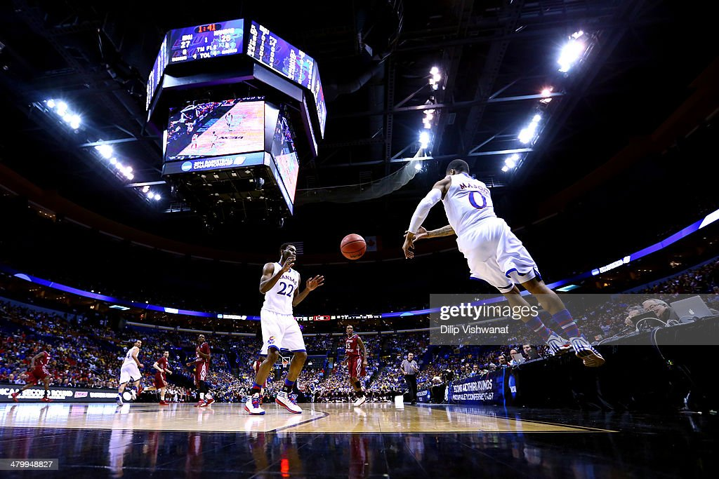 NCAA Basketball Tournament - Second Round - St Louis