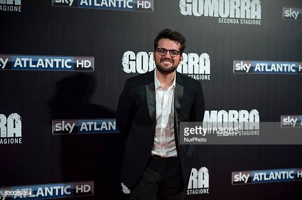 Frank Matano attends the 'Gomorra 2 - La serie' on red carpets at The Teatro dell'Opera in Rome, Italy on May 10, 2016.