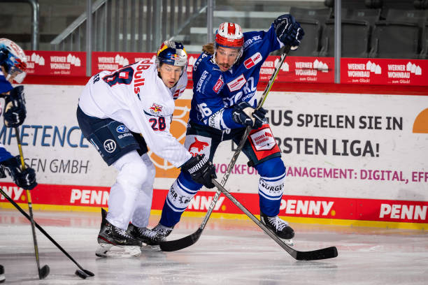 DEU: Magenta Sport Cup - Schwenninger Wild Wings v EHC Red Bull Muenchen