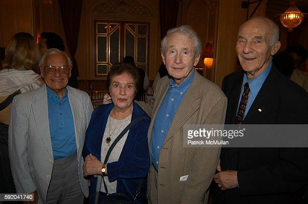 Frank McCourt and attend Walter Cronkite Hosts a Private Screening of Warner Independent Pictures' Good Night And Good Luck Directed by George...