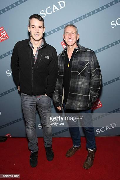 Frank Meli and Adam Shankman attend the Festival Awards Ceremony during the 17th Annual Savannah Film Festival on November 1 2014 in Savannah Georgia