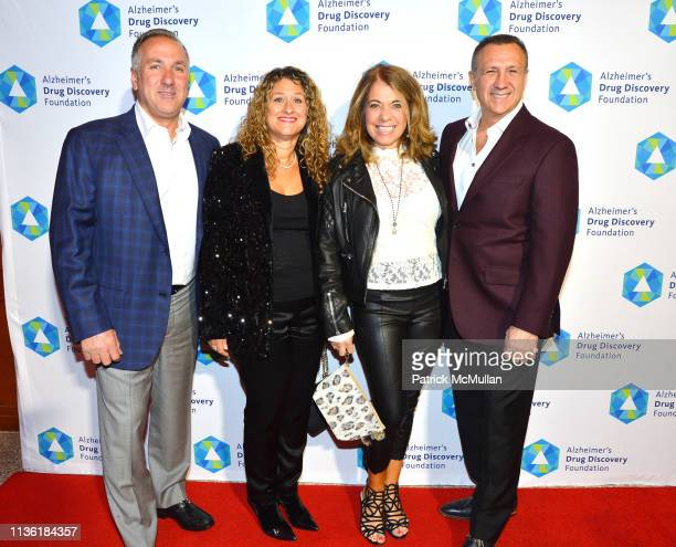 Frank Meli Lisa Meli Julie Galdi and Mario Galdi attend Alzheimer's Drug Discovery Foundation's Second Memories Matter Event at Pier 60 at Chelsea...