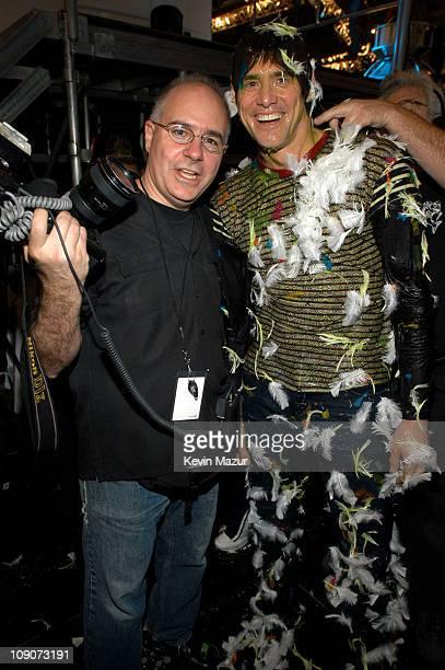 Frank Micelotta photographer with Jim Carrey