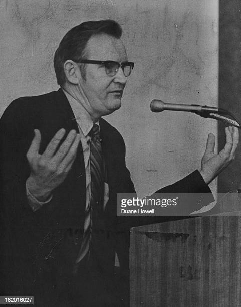JAN 25 1971 JAN 26 1972 JUN 30 1974 Frank Miles Emphasizes Point in Discussion He said disparity of propertytax impact isn't right