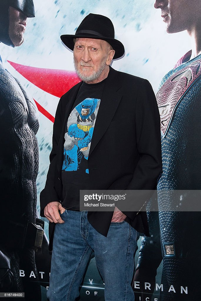 Frank Miller attends the 'Batman V Superman: Dawn Of Justice' New York premiere at Radio City Music Hall on March 20, 2016 in New York City.