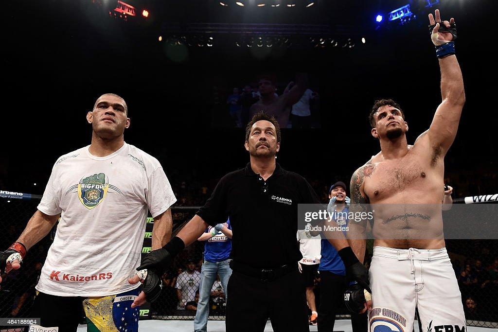 UFC Fight Night: Bigfoot vs Mir : News Photo