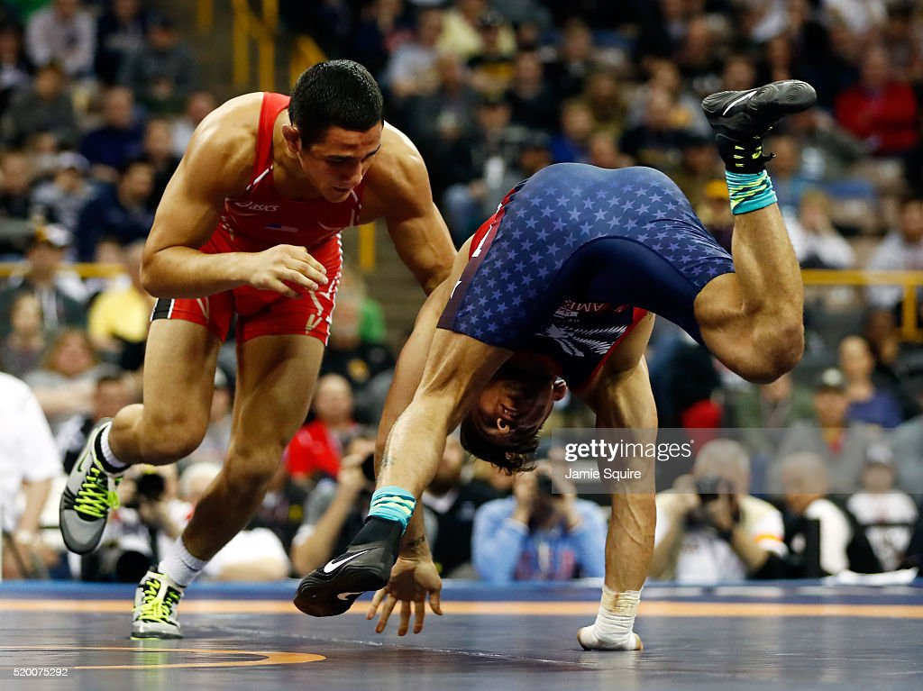 2016 U.S. Olympic Team Wrestling Trials - Day 1 : News Photo
