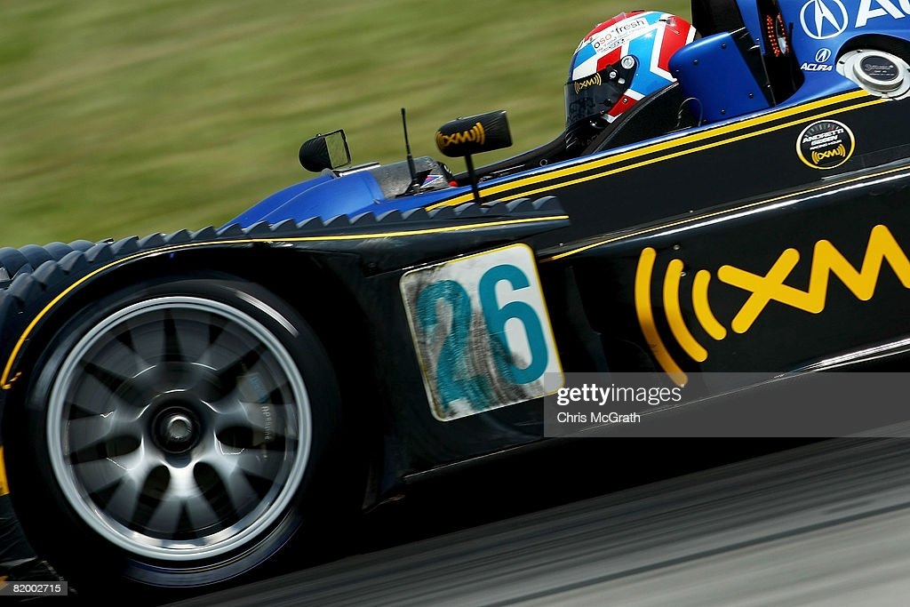 Frank Montagny, Drives The #26 Andretti Green Racing Acura ARX 01B During  The Amazing Design