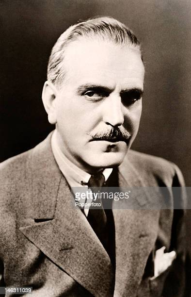 Frank Morgan , American actor, circa 1940.