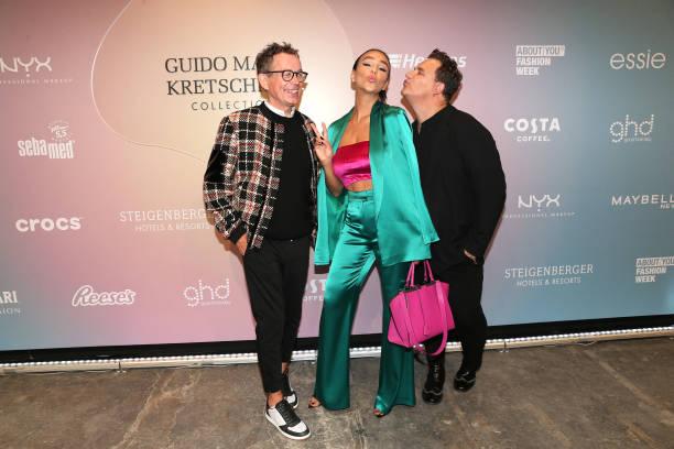 DEU: VIPS At Guido Maria Kretschmer - ABOUT YOU Fashion Week Autumn/Winter 21