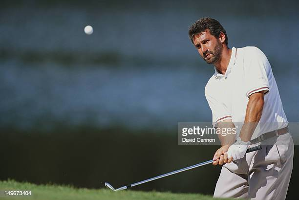 Frank Nobilo of New Zealand on 21st November 1993 during the World Cup of Golf at the Lake Nona Golf Club in Orlando Florida United States