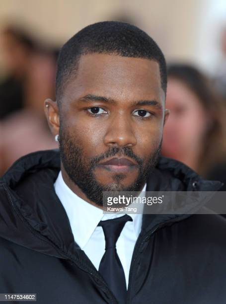 Frank Ocean arrives for the 2019 Met Gala celebrating Camp: Notes on Fashion at The Metropolitan Museum of Art on May 06, 2019 in New York City.