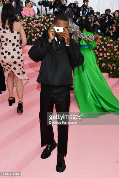 Frank Ocean attends The 2019 Met Gala Celebrating Camp: Notes on Fashion at Metropolitan Museum of Art on May 06, 2019 in New York City.