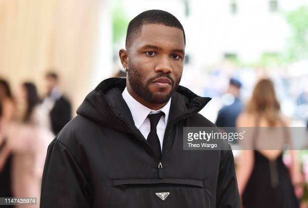 Frank Ocean attends The 2019 Met Gala Celebrating Camp Notes on Fashion at Metropolitan Museum of Art on May 06 2019 in New York City