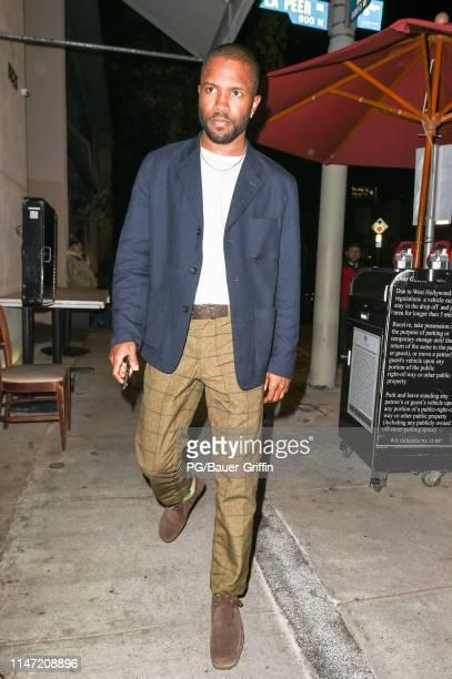 Frank Ocean is seen on May 31, 2019 in Los Angeles, California.