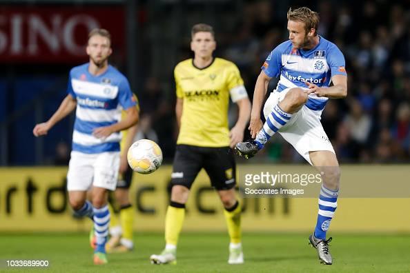 Frank Olijve Of De Graafschap During The Dutch Eredivisie