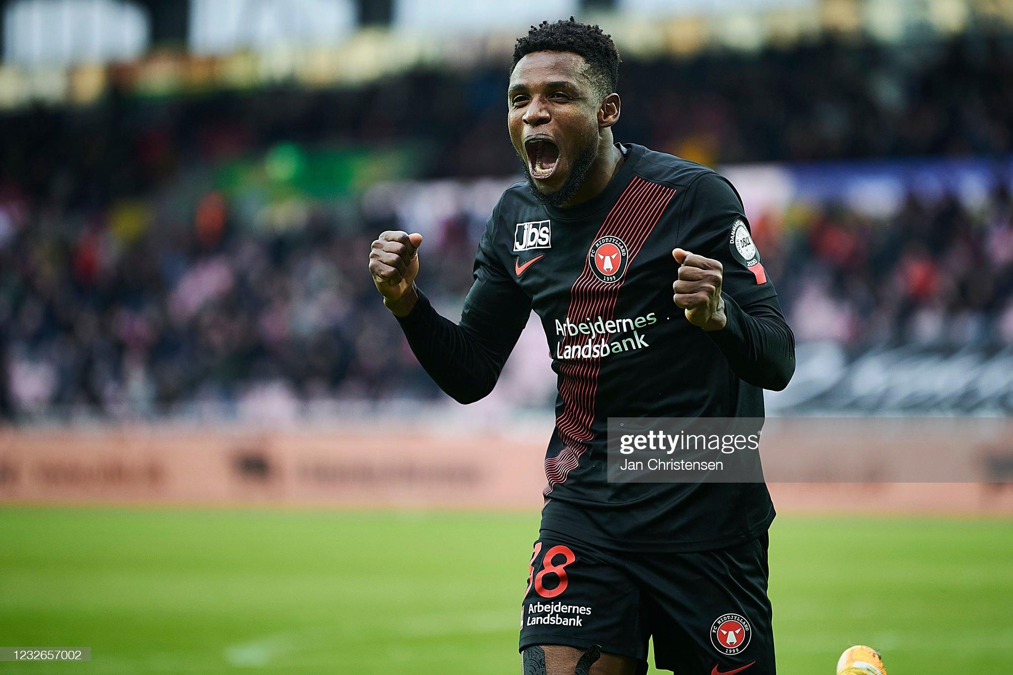 FC Midtjylland vs FC Nordsjalland - Danish 3F Superliga : ニュース写真