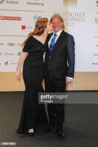 Frank Otto and Nathalie Volk attend the Deutscher Radiopreis at Elbphilharmonie on September 7 2017 in Hamburg Germany 'n
