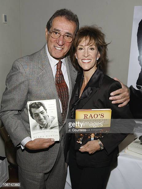 Frank Pelegrino and Deana Martin during Deana Martin and the Chambers Hotel Celebrate the Release of Her Book Memories Are Made of This at Chambers...