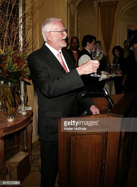 Frank Pierson Attending a New York celebration in anticipation of director Sidney Lumet's Honorary Academy Award which will be presented at the...
