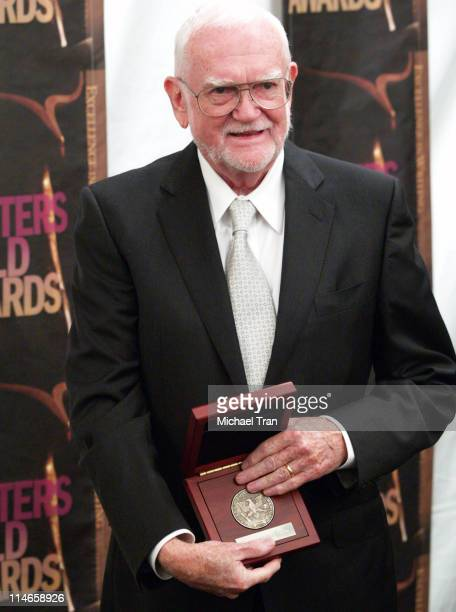 Frank Pierson, recipient of the Morgan Cox Award during 2006 Writers Guild Awards - Press Room at The Hollywood Palladium in Hollywood, California,...