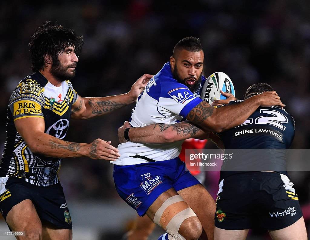 NRL Rd 9 - Cowboys v Bulldogs