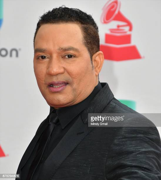 Frank Reyes attends the 18th Annual Latin Grammy Awards at MGM Grand Garden Arena on November 16 2017 in Las Vegas Nevada