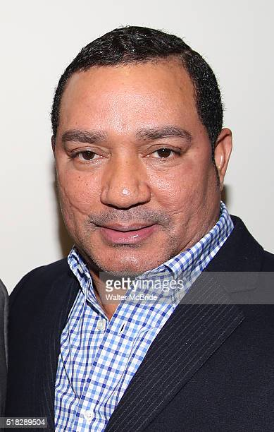 Frank Reyes backstage at the opera ÁFigaro and Frank Reyes at the New Duke 42nd Street on March 30 2016 in New York City