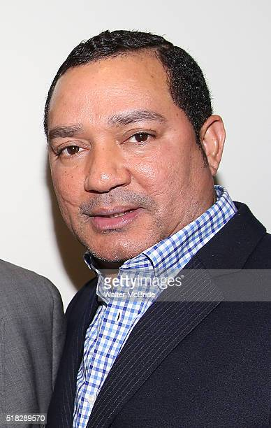 Frank Reyes backstage at the opera ÁFigaro at the New Duke 42nd Street on March 30 2016 in New York City