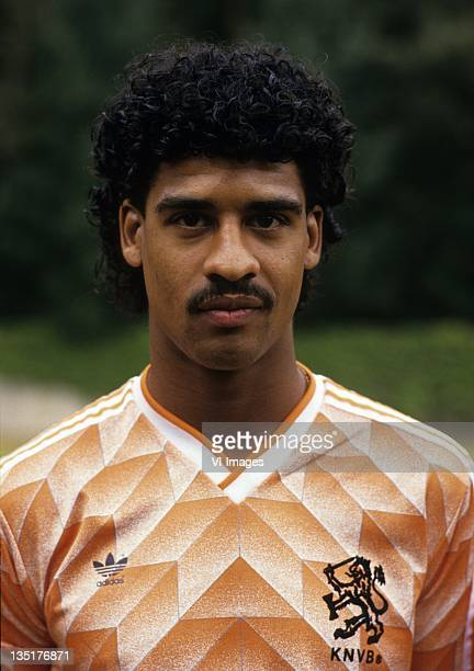 Frank Rijkaard during the team presentation of the Dutch National team for the European Championship on June 1 Netherlands