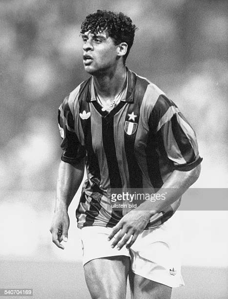 Frank Rijkaard, holländischer Fußballspieler von AC Mailand. .