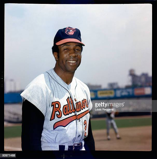 Frank Robinson of the Baltimore Orioles poses for a portrait circa 1970