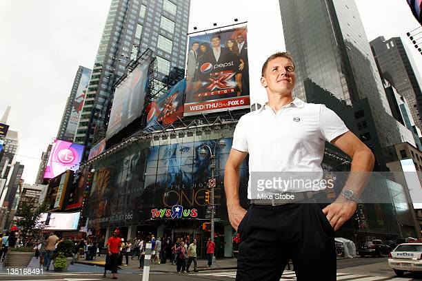 Frank Rost of the New York Red Bulls poses for a photo on September 22, 2011 in New York City.