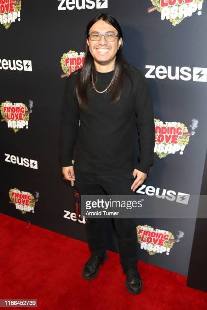 Frank Ruiz attend Tokyo Toni's Finding Love ASAP Los Angeles premiere at AMC Theaters Universal City Walk on November 08 2019 in Universal City...
