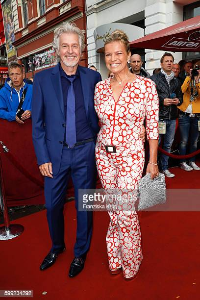 Frank Schaetzing and his wife Sabina Valkieser-Schaetzing attend the 'Nacht der Legenden' at Schmidts Tivoli on September 04, 2016 in Hamburg,...