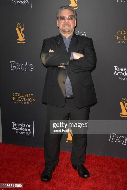 Frank Scherma attends The Television Academy Foundation's 39th College Television Awards at Wolf Theatre on March 16 2019 in North Hollywood...