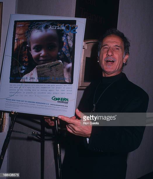 Frank Serpico attends Sixth Annual Seeds of Hope Dinner on November 6 2002 at the New York Hilton Hotel in New York City