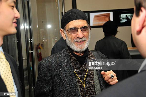 Frank Serpico attends the Addiction Incorporated screening at the Celeste Bartos Theater at the Museum of Modern Art on December 5 2011 in New York...