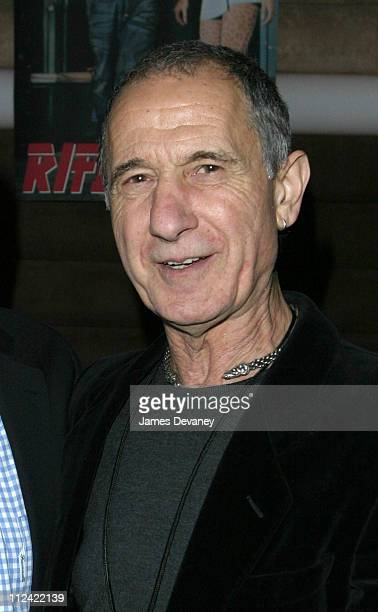Frank Serpico during Rifle US Launch Party Sponsored by Turi Vodka and Rockstar Energy Drink at Cielo in New York City New York United States